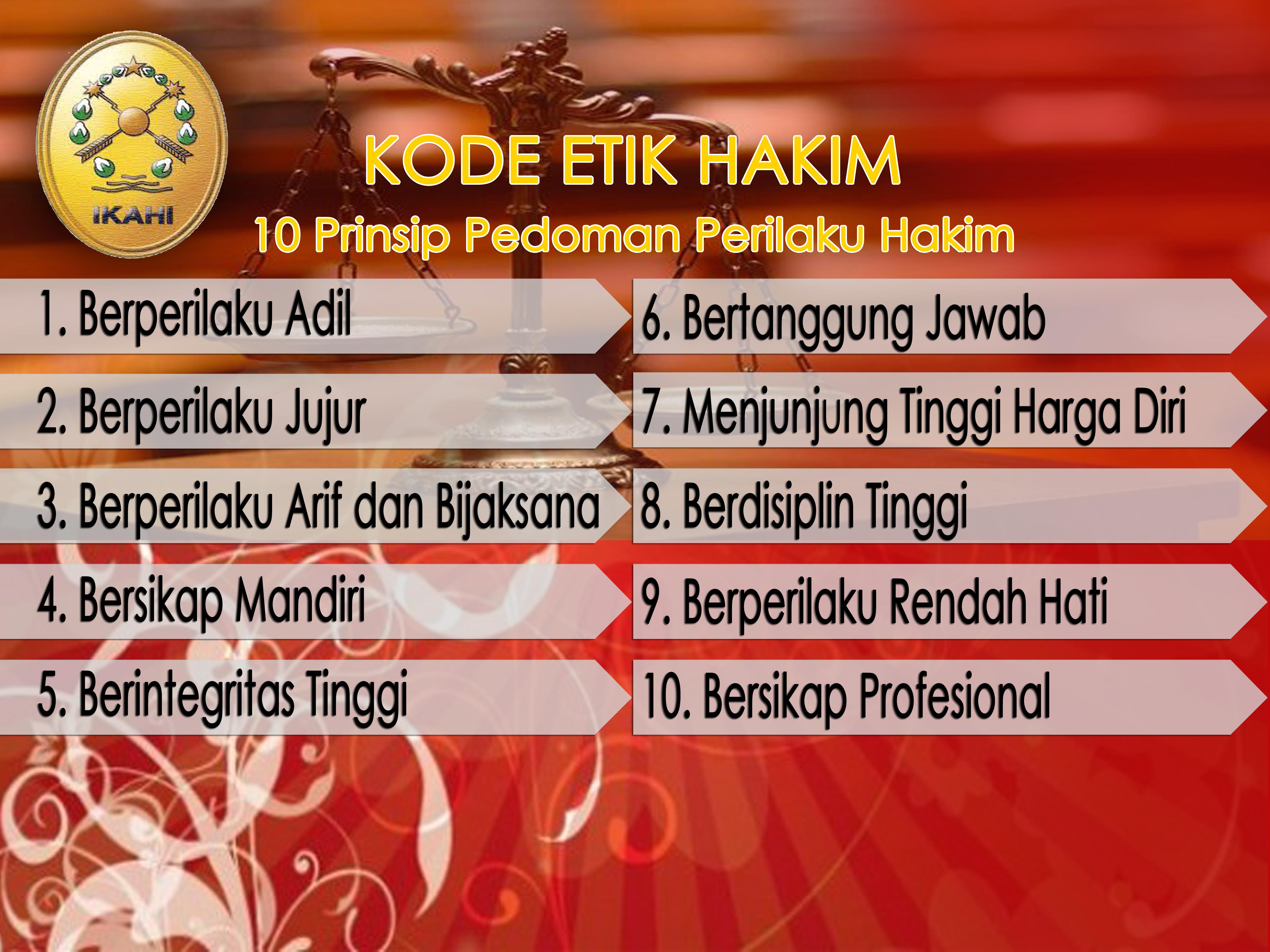 Kode Etik Hakim